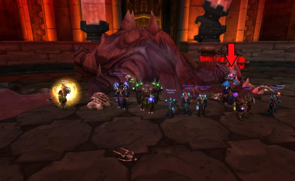 Lurppa in a raid (!)
